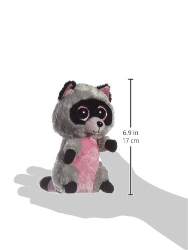 Ty - Peluche mapache, 15 cm, color gris (United Labels 36727TY): Amazon.es: Juguetes y juegos