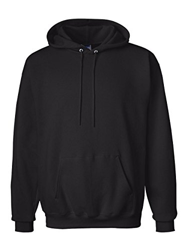 Hanes Men's Pullover Ultimate Heavyweight Fleece Hoodie, Black, 3X-Large