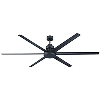craftmade mnd72esp6 mondo 72 inch espresso six blade metal outdoor ceiling fan with remote