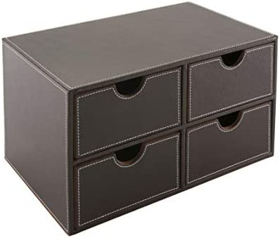 Osco Faux Leather Chest
