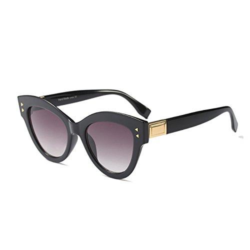 C2 C1 Retro Marke Sobredimensionado Sonnenbrille KLXEB Frauen Sonnenbrille Katzenaugen Weiß Gradienten Schwarz Rot Designer 7gqxgOdwp