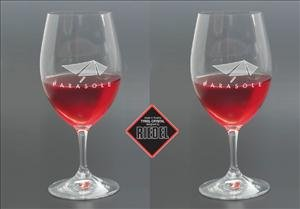 ANEDesigns Personalized Riedel Ouverture Magnum Wine Glass