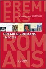 Livres gratuits Premiers romans 1945-2003 epub, pdf