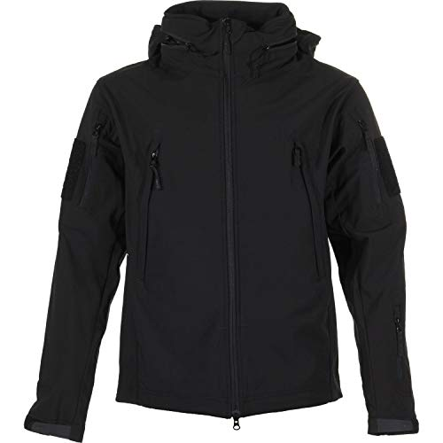Condor Summit Soft Shell Tactical Jacket, Color Black, Size ()