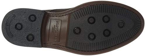 Mid Men's Brown Maxton Boot Dark Leather Chukka Bostonian BpRqw6ECnC