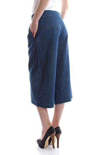 ONLY 15134503 L.32 SAM PANTALÓN Mujer Dark Blue Denim