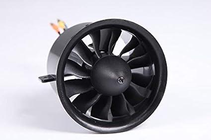 Amazon com: Jet motor: FMS 70mm Avanti EDF Ducted Fan Jet