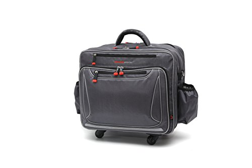 (New Gear Medical Antimicrobial Rolling Medical Bag for Nurses, Doctors, Medical Tech, Home Healthcare and Medical Professionals)