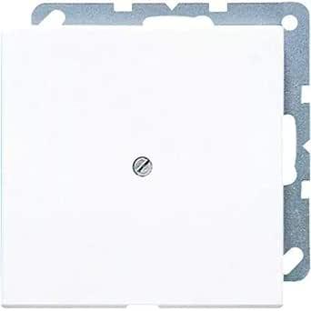 Caja registradora JUNG LS 990 A WW Color blanco caja de tomacorriente