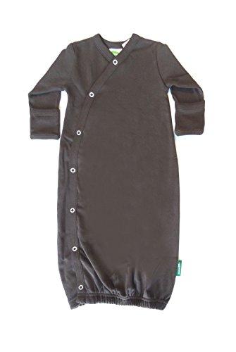 Price comparison product image Parade Organics Essential Kimono Gown Chocolate Brown Newborn / 0-3 Months