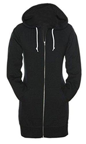 SKYLINEWEARS Womens Ladies Fashion Fleece Hoodies Casual Sweatshirt Zip Up Hoodie