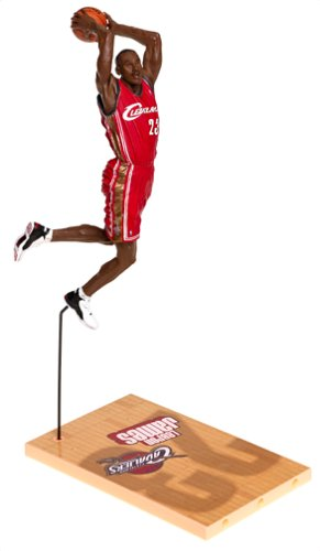 Variant Red Jersey - McFarlane Toys NBA Sports Picks Series 5 Action Figure LeBron James Red Jersey Variant