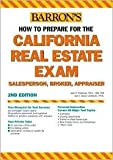 img - for How to Prepare for the California Real Estate Exam 2nd (second) edition Text Only book / textbook / text book