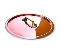 Mauviel Copper & Tin lined Lid - Bronze Handle