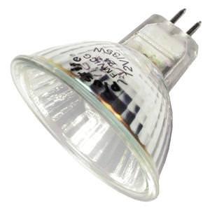 Plusrite 3228 - 35 Watt Halogen Light Bulb - Mr16 - Fmv Narrow Flood - Glass Face - 2,000 Life Hours - 2,300 Candlepower - 12 - 35v Halogen Bulb