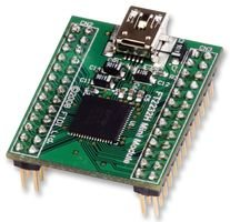 FTDI FT2232HQ-MINI-MODULE MOD, CONV, USB TO SERIAL/FIFO, 2 PORT, FT2232H ()