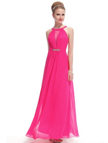 HE09995RD14 Hot Pink 12US Ever Pretty Wedding Dresses For Bride 09995