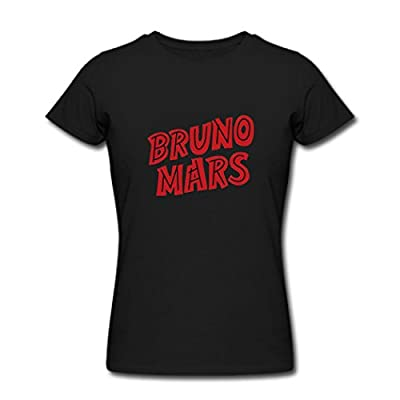 Lady's Popular Fashion Bruno Mars Logo T Shirts