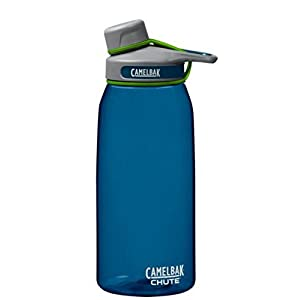 Camelbak Chute Bottle 1L Blue Grass Camelbak Chute Water Bottle BPA-FREE