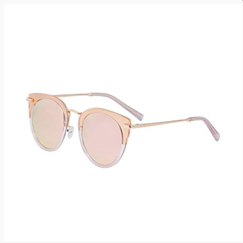Blue Light Glasses Polarized Sunglasses Retro Anti-Collision Lens Sunglasses Women: UV400 Protection (214 Sunglasses)