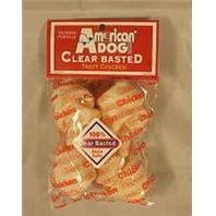 Pet Factory 949035 Usa 4-5-Inch Clear Chicken Bone Rawhide Chews for Dogs, 2-Pack