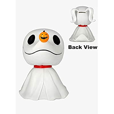 Nightmare Before Christmas 22653 Zero PVC Bank Novelty, Multicolor: Toys & Games