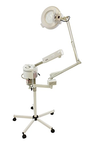 Facial Ozone Steamer & 5 Diopter Magnifying Lamp '' by SkinAct