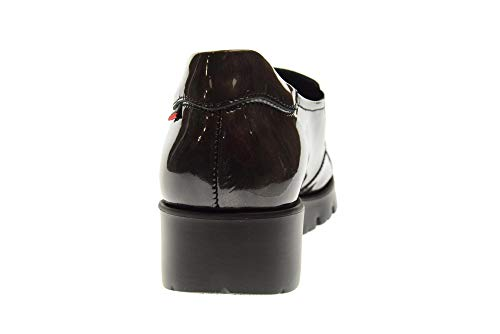 Antracite On Donna Slip 89817 argento Antracite Haman Scarpa argento Con Callaghan Zeppa gvp1xt