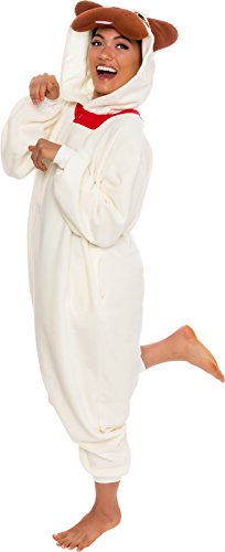 Silver Lilly Unisex Adult Pajamas - Plush One