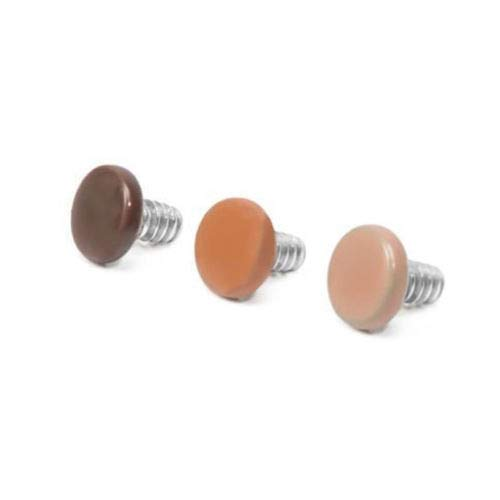 BodyJewelryOnline Dermal Anchors Tops Surface Barbells Labret Skin Color14g or 12g Sold Individually