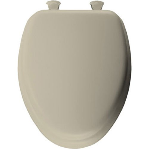 chic Bemia|#Bemis 1200SLOWT 348 Slow Close Sta-Tite Elongated Closed Front Toilet Seat, Swiss Chocolate,