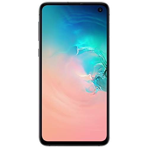 Samsung Galaxy S10e Factory Unlocked Android Cell Phone | US Version | 256GB of Storage | Fingerprint ID and Facial Recognition | Long-Lasting Battery | U.S. Warranty | Prism White