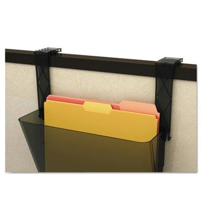 Deflect-O - 3 Pack - Plastic Partition Brackets Set Of Two Black ''Product Category: Desk Accessories & Workspace Organizers/Wall & Panel Organizers'' by Original Equipment Manufacture