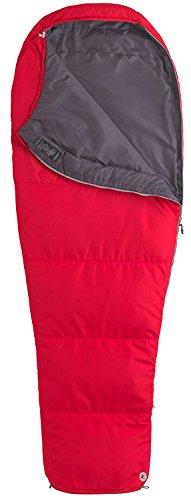 Marmot NanoWave 45 Synthetic Sleeping Bag, Regular-Left, Red
