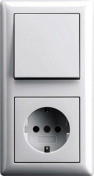 Gira Serie Standard 55 Steckdosen Komplett-Sets: Amazon.de ...