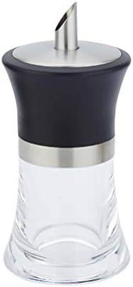Cabilock 304 roestvrijstalen siroopfles Kruiderijfles Acryl Kruiderij Pot Keukenbenodigdheden