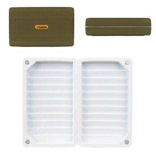 Flambeau Tackle Foam Fly Box (Green, 6.5x4x1.75-Inch), Outdoor Stuffs