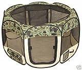 BestPet Large Camouflage Pet Tent Exercise Pen