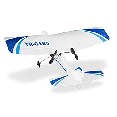 Remote Control Plane | Rc Airplane for Adults and Kids Ready to Fly Planes Electric 2 Channel RTF Rc Plane | Radio Controlled Ready to Fly: Toys & Games
