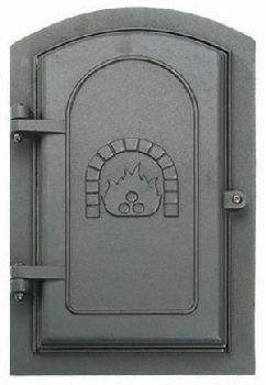 12 Cleanout Door (8'' x 12'' Cast Iron Clean-Out Door)