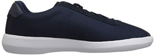 Lacoste Men's Navy Avance Fabric Sneaker White Y8wrHYq