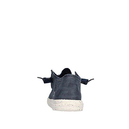blu DUDE color DUDE PERFORATED modelo Scarpe Blu Scarpe HEY marca Uomo WALLY HEY uomo Blu vwx6B4Z