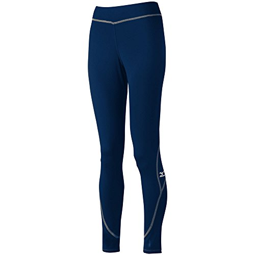 Mizuno Womens Beach Omnis Tights Navy