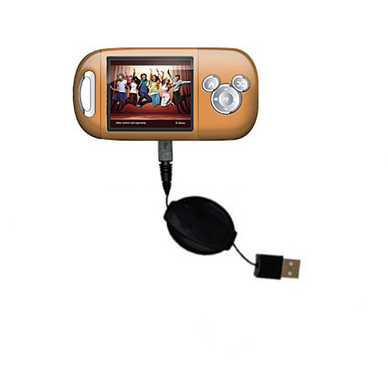 - USB Power Port Ready retractable USB charge USB cable wired specifically for the Disney High School Musical Mix Max Player DS19005 and uses TipExchange