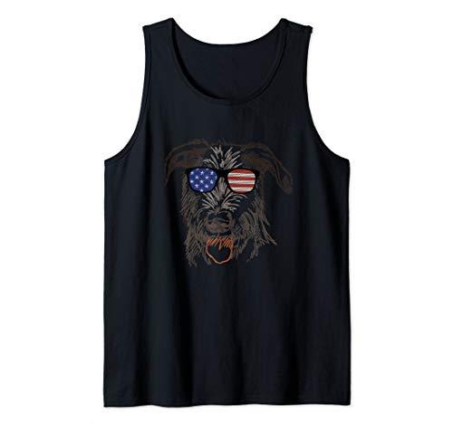 Irish Wolfhound in glasses Tee T Shirt Tshirt Tank Top