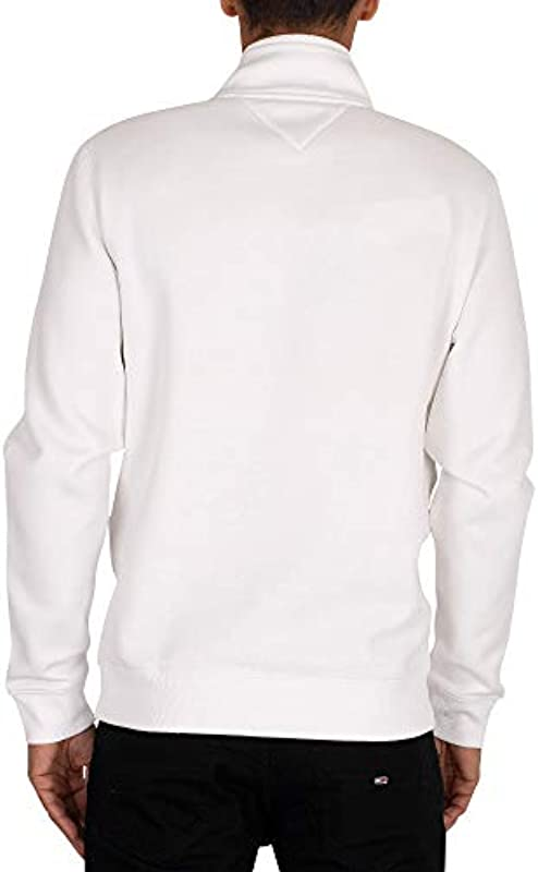 Tommy Jeans Męskie TJM Detail Mock Neck Hose: Odzież
