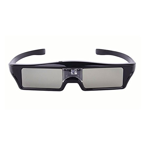 Bluetooth RF Active Shutter Type 3D Glasses Chargeable for Epson Projector and SONY Samsung Panasonic TV by NIERBO