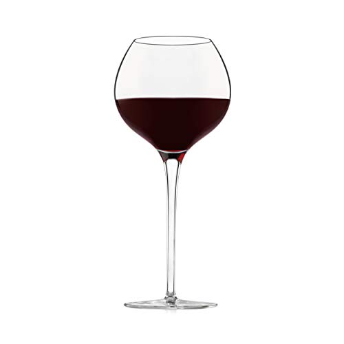 Libbey Signature Westbury Red Wine Glasses, 23.5-ounce, Set of 4 (Red Round Wine Glasses)