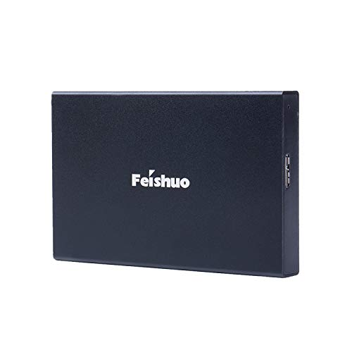 Portable External Hard Drive USB3.0 SATA HDD Storage (500G, Black)