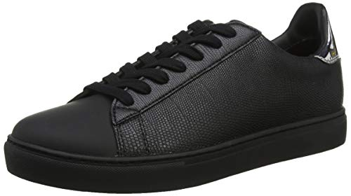 black 00002 Armani Schwarz Exchange Para Zapatillas Low top Sneaker Hombre 6Z46x8w
